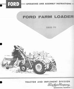 Ford 711 One-armed Loader