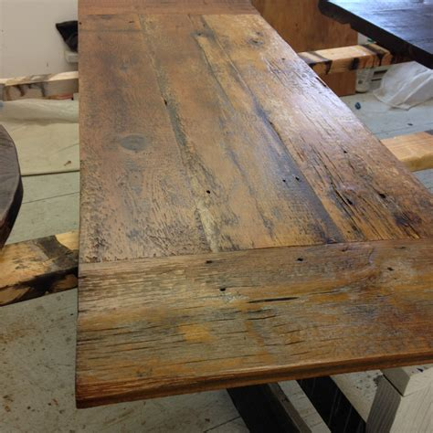 reclaimed dining table top reclaimed barn wood nc wood table