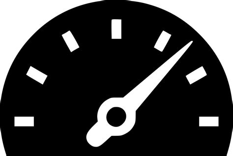 Speed Meter Level High Accelerometer Svg Png Icon Free