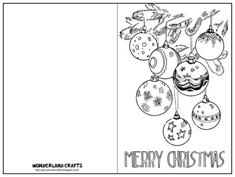 christmas card stencils wonderland crafts template
