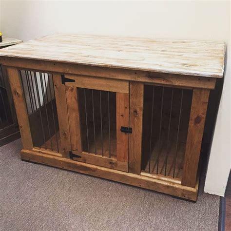 handcrafted dog kennel  dog crate custom dog kennel