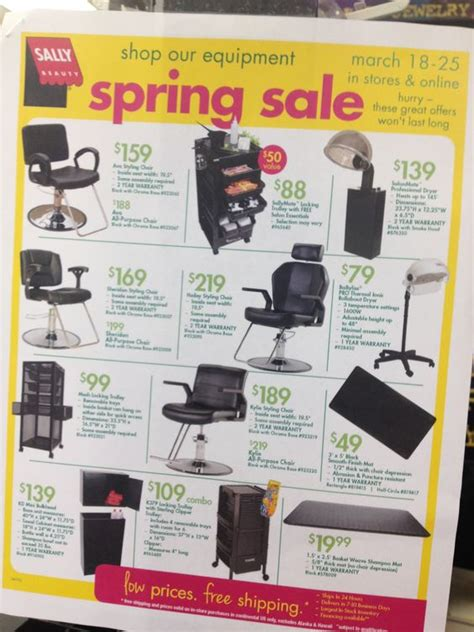 salon equipment sallys beauty supplies  beauty supply