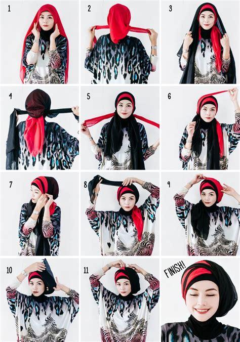 hijabholicanism  layered hijab tutorial hijab