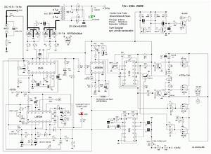 Inverter Circuit Diagram Dc 12v To Ac 220v 200w Sine Wave