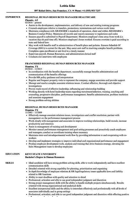 resume sample  hr manager sample templates