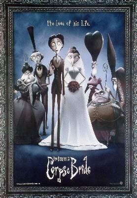 corpse bride wedding alive reprint poster buy