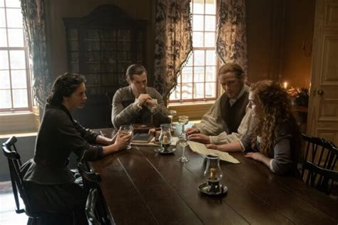 """It consists of twelve episodes, and was adapted from the content of the fifth book of the series , the fiery cross. Outlander Season 5 Episode 8 Recap: """"Famous Last Words"""""""