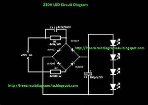 Free Circuit Diagrams 4u  220v Led Light Circuit Diagram