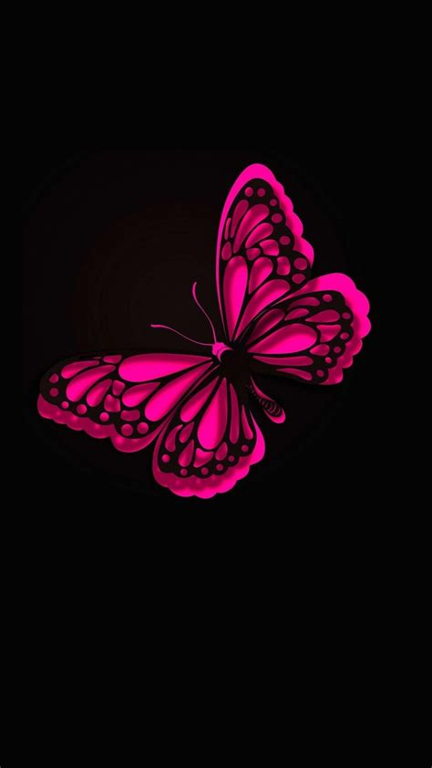 Background Home Screen Butterfly Wallpaper by Iphone Wallpaper Hd Pink Butterfly Best Hd Wallpapers
