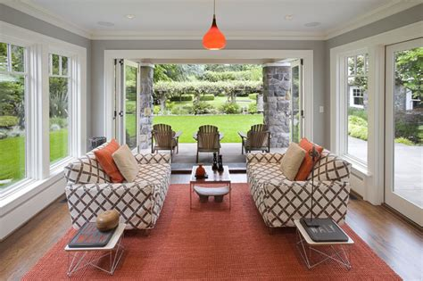 what to do with a sunroom image sun room contemporary sunroom portland by emerick