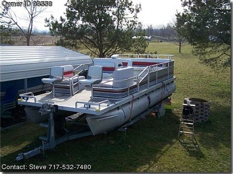 Weeres Paddle Boat For Sale by 1990 Kayot Fisherman Pontooncats