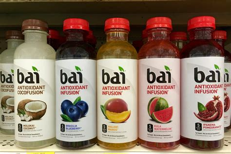 the bai dr pepper snapple to acquire flavored water company bai brands