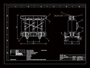 Dry Transformer DWG Block for AutoCAD • Designs CAD