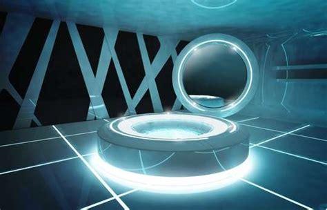 Icy Scifi Interiors  Tron Designs