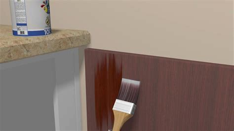 How To Refinish Kitchen Cupboards by How To Refinish Kitchen Cabinets 10 Steps With Pictures