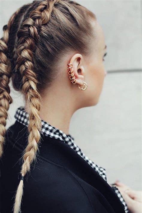 boxer braid style  women  modern fashion blog