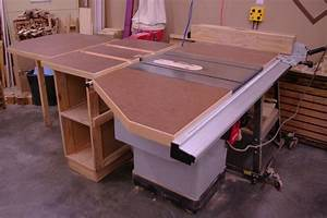 Table Saw Extension Table System - by