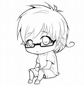 What I Do During PE/CHIBI LINEART CONTEST ROUND1 by mizuki ...