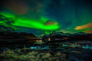 Aurora Lights by Download Hintergrund Winter Nordlicht 220 Bernachtung