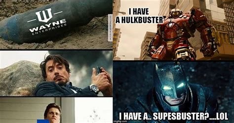 Iron Man Memes - 15 most savage iron man vs batman memes animated times