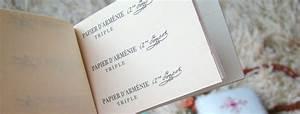 Papier D Arménie : le papier d 39 arm nie jasmine and co ~ Michelbontemps.com Haus und Dekorationen