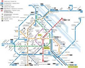 Vienna Transport Map,Vienna Subway Map, Vienna Metro Map