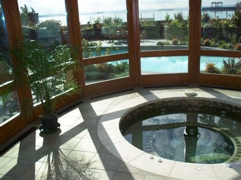 stunning indoor hot tub designs