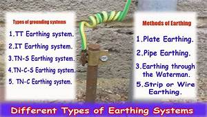 Different Types of Earthing Systems - Methods of Earthing ...