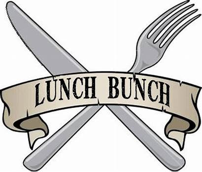 Lunch Bunch Clipart Luncheon Sign December Clip
