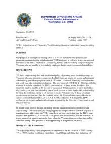 VA Disability Award Letter Example