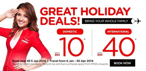 airasia promotion  rm great holiday deals
