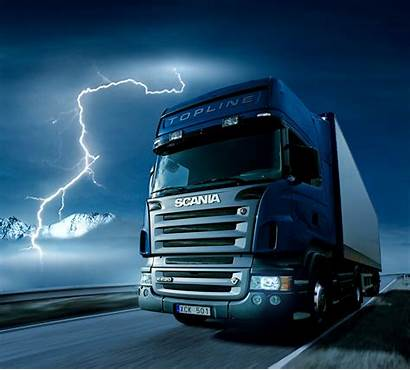 Scania Truck Wallpapers R420 Background Trucking Road
