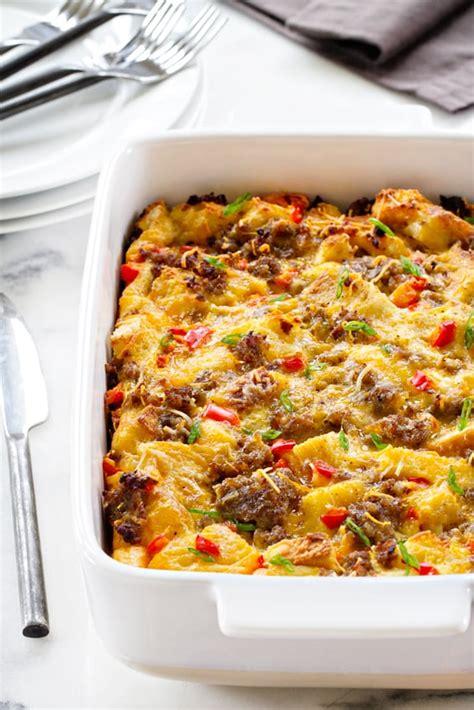 make breakfast casserole make ahead breakfast casserole