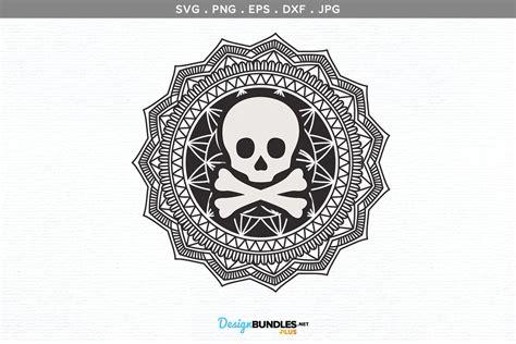 Mandala svg elephant svg svg file for cricut mandala clipart. Halloween skull mandala | svg , printable