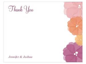 printable wedding programs free watercolor flower thank you card