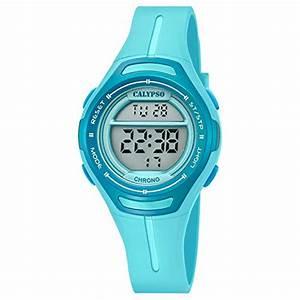 Calypso Uhren Kinder : calypso armbanduhr f r damen digitaluhr sport k5727 3 pu armband t rkis quarz uhr uk5727 3 ~ Eleganceandgraceweddings.com Haus und Dekorationen