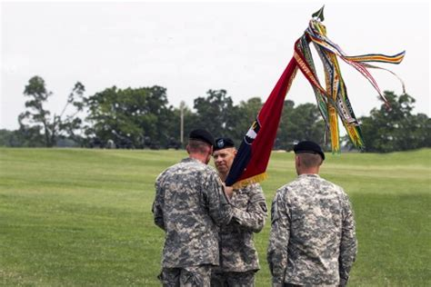 """101st Airborne Division's 2nd Brigade Combat Team """"strike"""" Holds Change Of Command Ceremony At"""