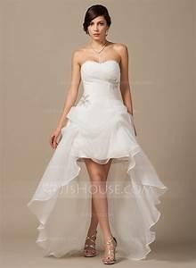 a line princess sweetheart asymmetrical organza wedding With robe bustier asymétrique