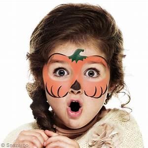 Maquillage Halloween Enfant Facile : maquillage halloween pour petite fille maquillage ~ Nature-et-papiers.com Idées de Décoration