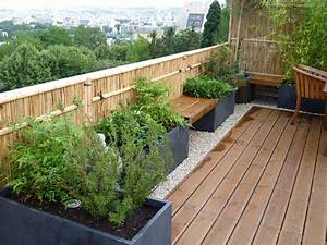 amenagement de terrasses et jardins amenagement terrasse With photos jardins et terrasses