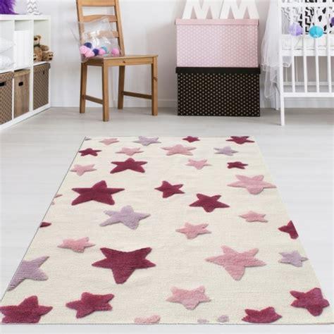 kinderzimmer teppich rosa kinderzimmer teppich m 228 dchen rosa sterne teppich4kids