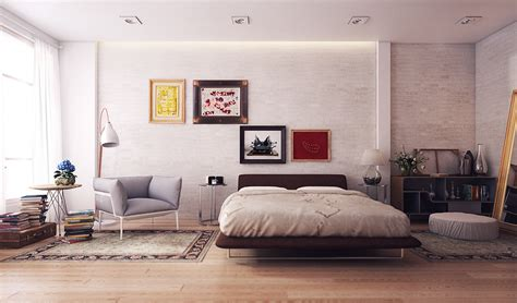 variety  minimalist bedroom designs   trendy  wooden accent decor roohome