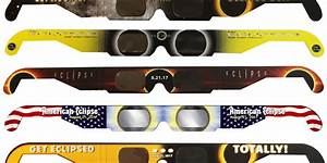 These companies make eclipse glasses certified as safe ...