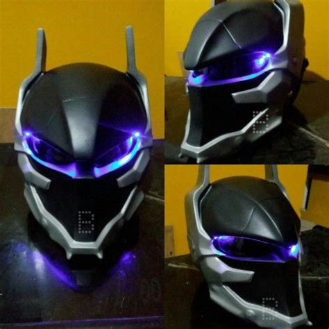batman arkham helmet custom motorcycle motorcycle