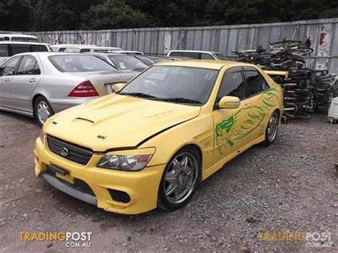lexus altezza stock lexus is200 is300 altezza beams with 6 speed parts for