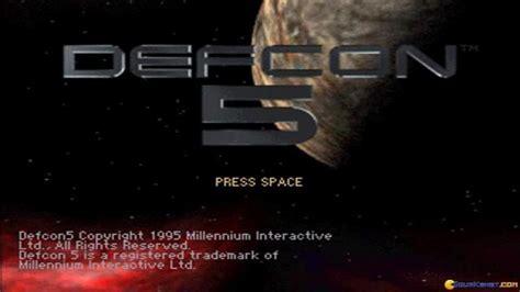 Defcon 5 (millennium, 1995) Gameplay (pc Game, 1995)