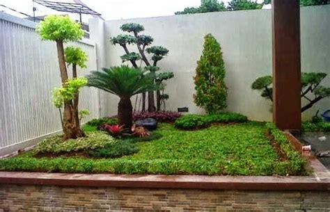 foto taman sederhana modern minimalis taman