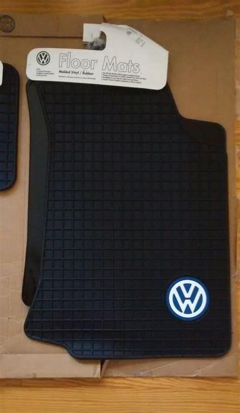 vwvortexcom fs mk oem dealer floor mats rubber mats
