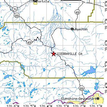 Sierraville, California (CA) ~ population data, races ...