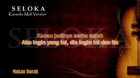 Musik daerah papua dan maluku. Makan Darah RnB   Karaoke musik Version Keyboard + Lirik ...